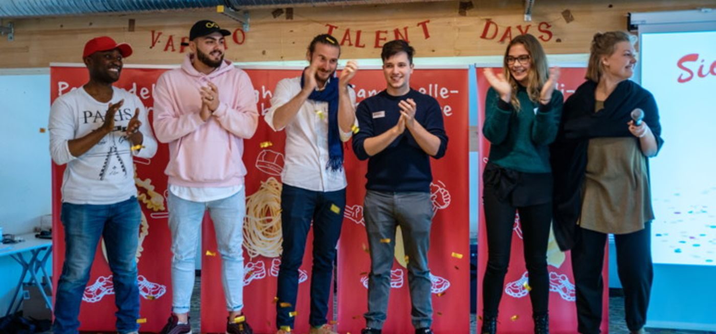 Die Gewinner der VAPIANO Talent Days 2018